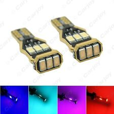 10x Car 194/168/W5W Wedge T15 9SMD 5730 CANBUS Error Free Electrodeless Design