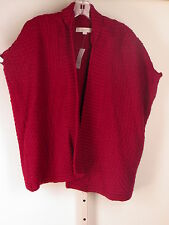 Ann Taylor Loft Cocoon  Chunky Open Front Cardigan Sweater  XS S M L XL NWT