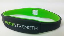 Black and Green Lifestrength Purestrength Healthy Wristband Negative Ion Infused
