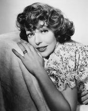 Loretta Young Stunning B&W Poster or Photo