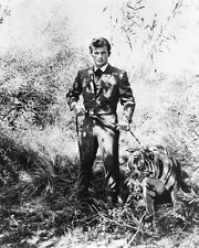 The Wild Wild West Robert Conrad Poster or Photo with Tiger