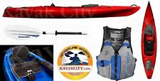 Wilderness Systems Pungo 120 Kayak - Deluxe Package - Red