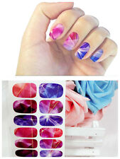 Fashion DIY Mixed Color Water Transfer Stickers Decals Nail Art Decoration Tips