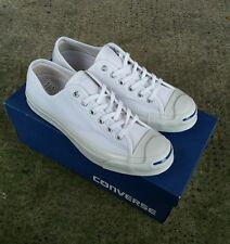 Converse Jack Purcell OX Low White Trainers Brand New