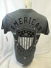 AMERICAN FIGHTER By AFFLICTION Mens T Shirt GRAY M L XL 2XL 3XL ROCHESTER FM3237