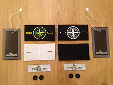 Stone Island Replacement Badge Patch Buttons