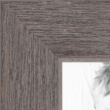 ArtToFrames 1.25 Inch Gray Rustic Wood Picture Poster Frame 77900 LG