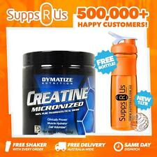DYMATIZE MICRONIZED CREATINE MONOHYDRATE 300G CHERRY LIMEADE STRENGTH RECOVERY