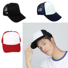 Classic Plain Adjustable Hip-Hop Baseball Caps Sun Sports Hat Unisex Snapback