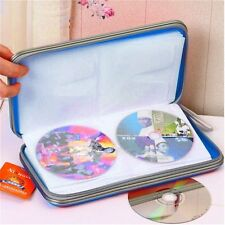 1pc 80x Disc CD DVD Portable Storage Case Wallet Hard Box Bag Holder Hard MC