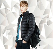 UWBACK NEW Men Winter Coat Casual Padded Quilted Jacket with Stand Collar UMA283