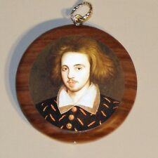 CHRISTOPHER MARLOWE art marble Cuff Link or Tie Tack or Ring or Pendant or Pin
