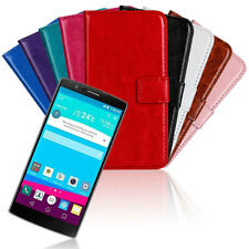 For LG G4 Slim Flip Wallet Leather Case Card Slot Pouch Stand Protective Cover