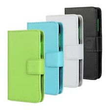 NEW HOT Luxury PU Leather Card Flip Stand Wallet Case Cover for Nokia Lumia 530