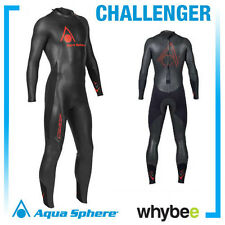 AQUA SPHERE MENS CHALLENGER TRIATHLON WETSUIT SWIMMING - ALL SIZES!