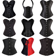 Sexy Lace up boned Overbust Corset Dress basque Various Style Highest Quality SD