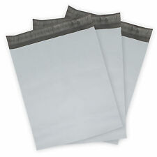 Poly Mailers (Plastic Envelopes) White Shipping Mailing Bags 1000, 500, 250+more