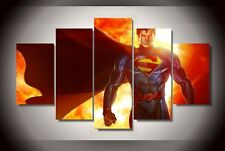 Printed superman game Painting on canvas room decoration print poster picture