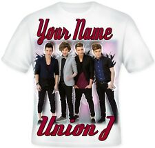 Kids Child's Personalised Union J Koolart T Shirt Great Gift Idea