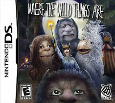 Nintendo DS - DS, DSi, Lite, XL - Where The Wild Things Are - Brand New  Sealed