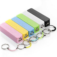 Portable External Battery Backup USB 18650 Battery Mobile Charger Power Bank Box