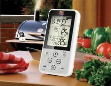 Digital Meat Thermometer BBQ Kitchen Cooking Food Wireless Dual Probe Grill Oven