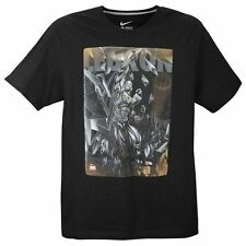 "Nike LeBron James ""Lebron Is Carbonado"" Dri-Fit T-Shirt Black Large XL 2XL 3XL"