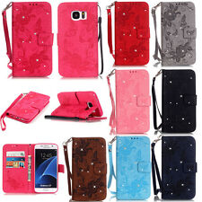 Wallet Flip Folding Case for iPhone Various Phone PU Leather Patterns Cover Skin