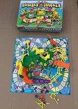 Rumble In The Jungle Board Game Incomplete