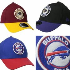 New Era NFL Fitted Patch Buffalo Bills Cap Ravens Flex Redskins Hat Mens Size