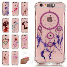 LED Flash Lighting Bling TPU Case Clear Incoming Call Cover For iPhone 6 6S Plus