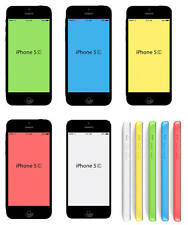 Refurbished Apple iPhone 5C 16 32GB Unlocked Smartphone Grade A 5 Colors + Gifts
