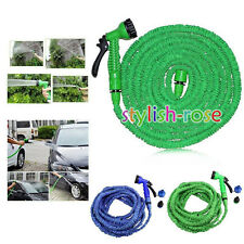 US 6 SIZES - NEW Magic XHose Home Garden Expandable Pocket Water Hose Fashion