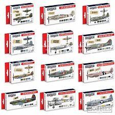 Hataka WW2 Plane Acrylic Paint Set Model Aviation Colour Scheme RAF Spitfire