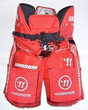 WARRIOR HUSTLER VELCRO PANTS with VELCROS, NEW, Red, Pro Ice Hockey Pant