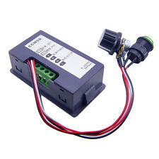 DC 6-30V 12V 24V MAX Motor PWM Speed Controller With Didital Display & Switch IB