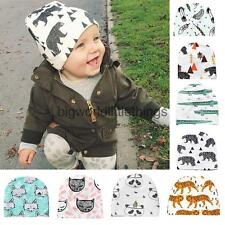 Cartoon Baby Toddler Beanie Cap Infant Kid Crochet Knit Girl Boy Winter Warm Hat