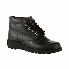 Kickers Kick Hi High Adult Unisex Black Boots Back To School