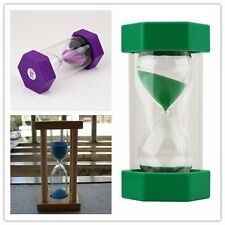 Sand Timer Hourglass Sandglass Egg Timers 1/10/15 Minutes Cooking MC