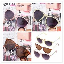 Fashion Metal Plastic Frame Sun Glasses Retro Round Sunglasses For Men WomenJS~#