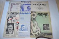 Lot 6 Pieces of Vintage Sheet Music Norseland Sketches In a Little Spanish Town