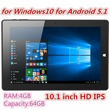 10.1 Inches 64GB Quad Core Tablet Personal Computer FullHD Laptop 4GB Ram JK~@