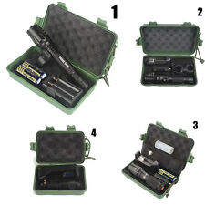 G700 X800 8000LM Zoom XML T6 LED Tactical Flashlight 18650 Battery+Charger+Case