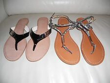 Coach RADIANT and Coach CICILY sandals size 8.5