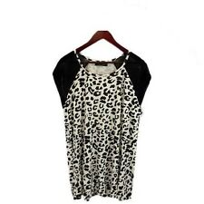 Lily and Lou Animal Print Plus Size Blouse Top Tunic Shirt sizes 20 & 22