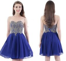 Sheer Neck Chiffon Short Mini Homecoming Dress Evening Prom Cocktail Party Dress