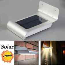 16 LED Solar Power Motion Sensor Security Lamp Outdoor Garden Waterproof Light M