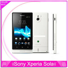 """Sony MT27i Xperia sola Dual core 3G Android 3.7"""" 5MP 8GB Capacitive touch screen"""