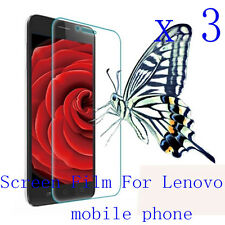 3 Clear Glossy Matte Screen Protector Film Cover Pouch For Lenovo Mobile Phone 3