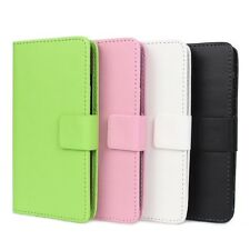 1x PU Leather Wallet Card Flip Open Case Cover Protector for HTC Desire 601 NEW